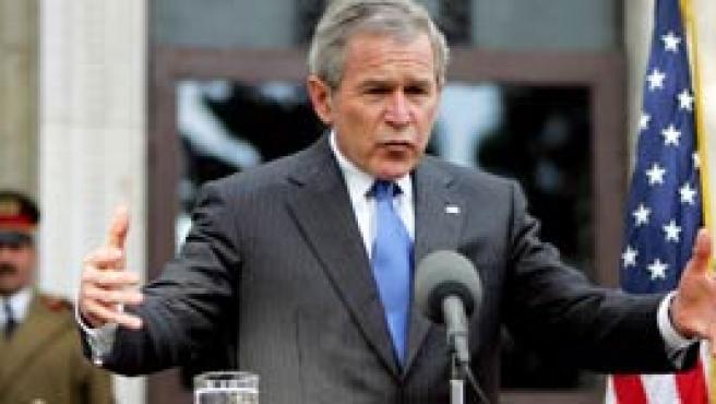 George Bush, de visita en Afganistán (Reuters)