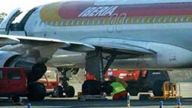 Un avión de Iberia (Efe)