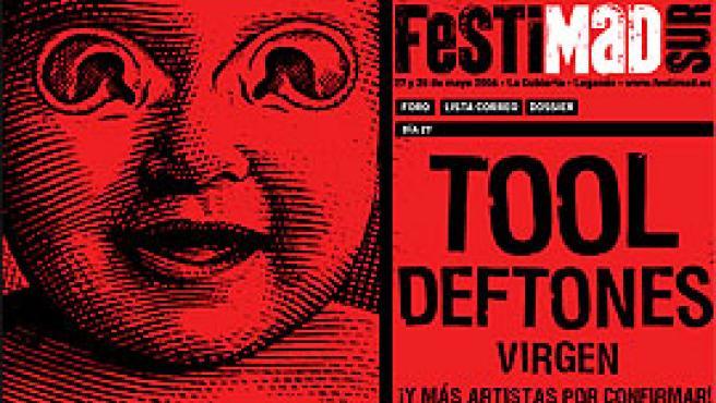 Parte del cartel, extraído de la página web oficial (www.festimad.es).