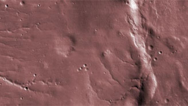 Primera imagen de Marte recogida por la sonda MRO (Foto: NASA)