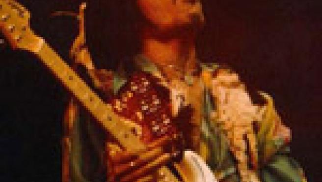 El guitarrista Jimmy Hendrix