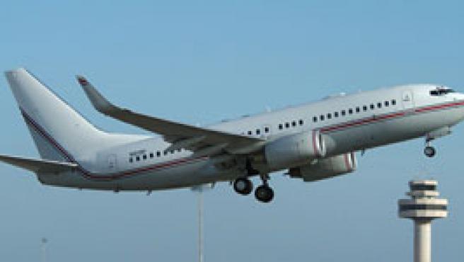 Un Boeing 737 utilizado por la CIA. (FOTO: Amnistía Internacional)
