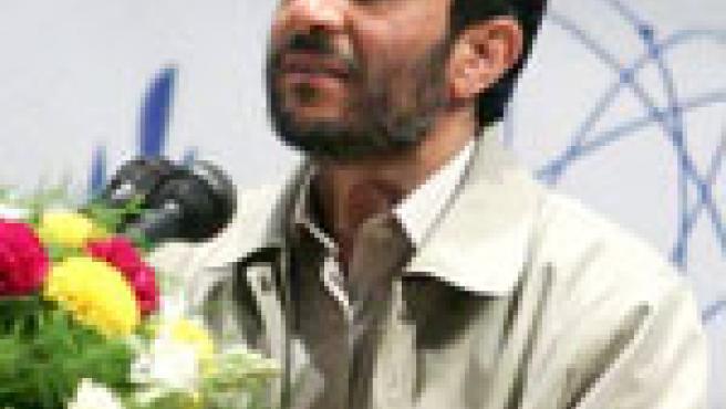 El presidente iraní hoy enun discurso en Mashad, alnoreste del país. (Efe)