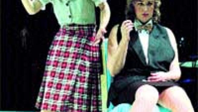 Las protagonistas de So-Sobre durante un momento de la obra.