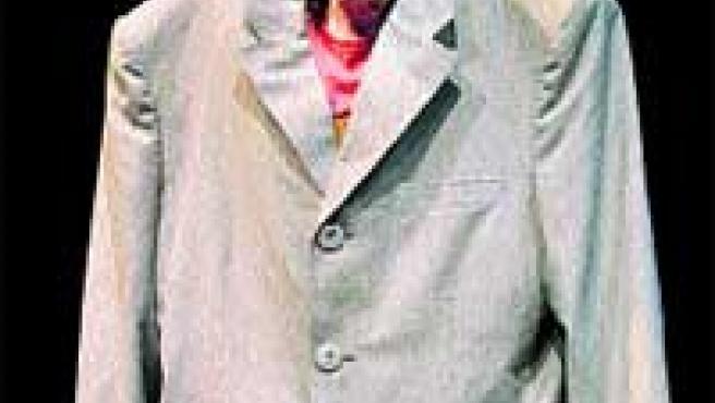 El actor Christian Atanasiu en un momento de la actuación en la obra Dondedondedonde.