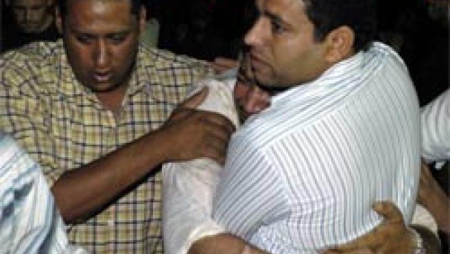 Víctimas del atentado, el lunes en Dahab (Foto: Reuters)