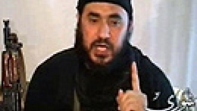 Primeras imágenes de Al Zarqaui en una web (Reuters).