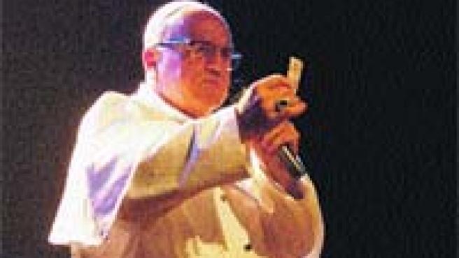 Leo Bassi (en la imagen) desciende de una larga familia de comediantes italianos, franceses e ingleses.