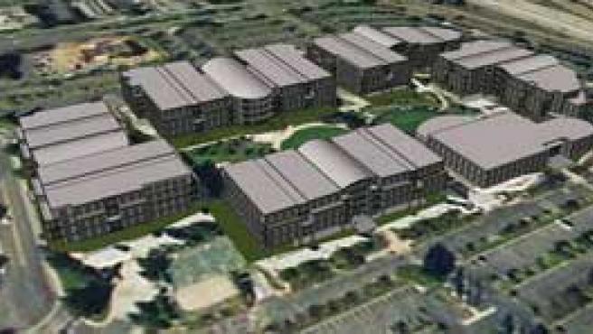 Modelos creados con Google SketchUp e insertados en Google Earth.