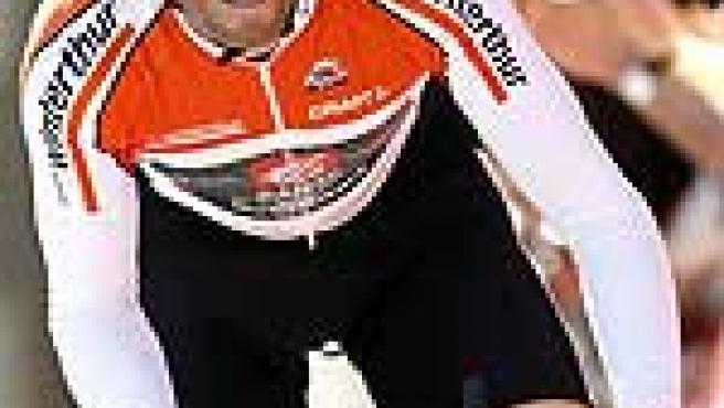 Alejandro Valverde en una crono. (Efe)