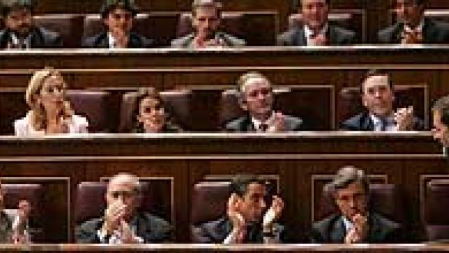 Rajoy defendió un referéndum nacional sobre el Estatuto de Cataluña. (Efe)