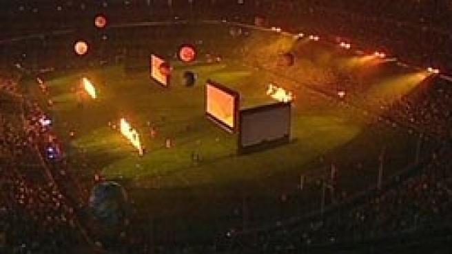 Espectáculo en el Camp Nou (TV3)