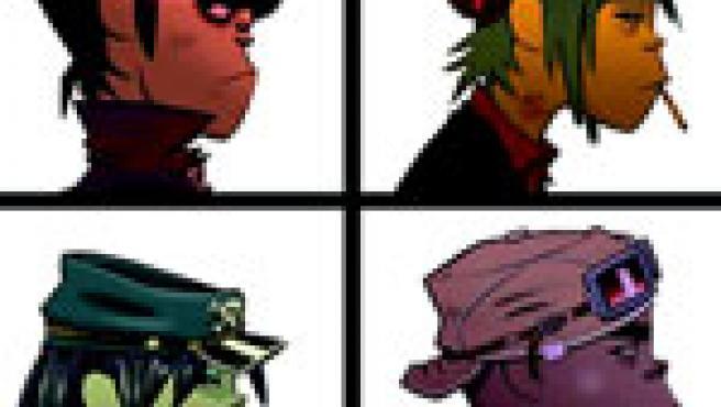 El grupo GorillaZ ha sido premiado por cómo fusiona música y animación en su página web.