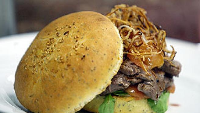 La jugosa hamburguesa (Efe).