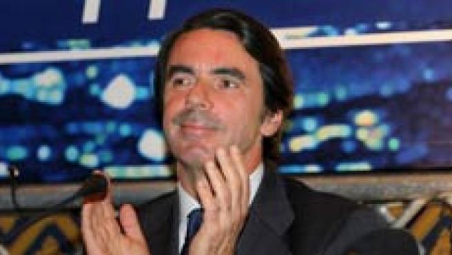 Aznar en Roma. (Efe)