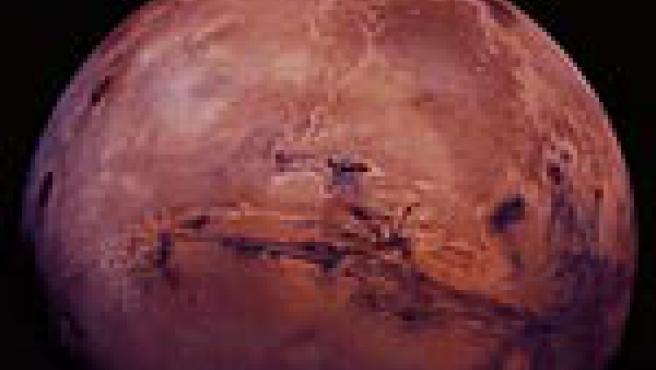 Imagen de Marte captada por la NASA.