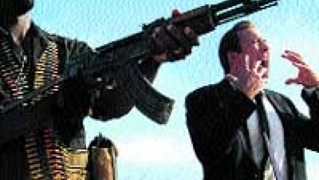 Nicolas Cage, en una imagen de la película El señor de la guerra.