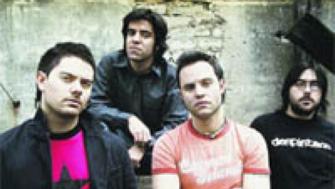 Componentes de Despistaos, una formación joven, pero con tres discos ya en el mercado.