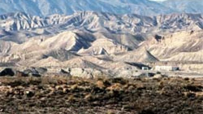 El desierto de Tabernas, en Almería, un ejemplo del avance de la desertización (Foto: Efe)