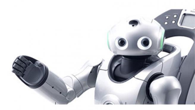 El robot Qrio, de Sony.