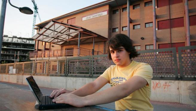 Iván Fresneda, el alumno expedientado.