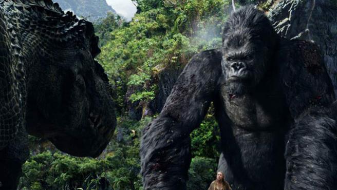 'King Kong' estará disponible para descarga desde el día de su salida en DVD.