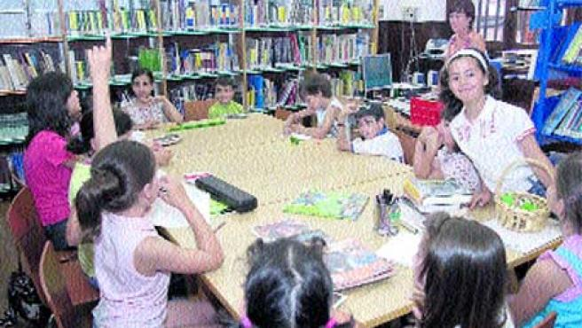 La biblioteca infantil y juvenil, en Durán Loriga.(M. Fuentes)