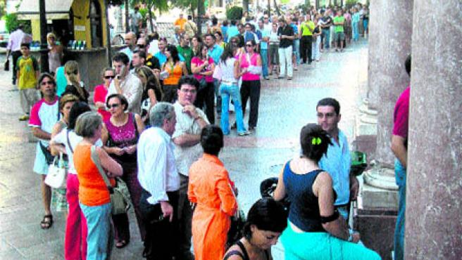 Son los fans de Bruce Springsteen, El Jefe (The Boss) (Bolívar)..