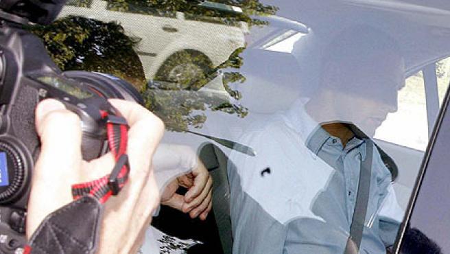 Materazzi llega a la sede de la FIFA(Walter Bieri/EFE)