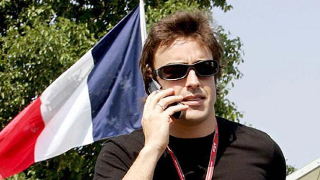 Alonso, dispuesto a aumentar de nuevo la ventaja en Magny-Copurs (EFE).