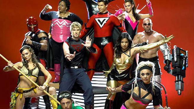 Finalistas de 'Who Wants to Be a Superhero?'.