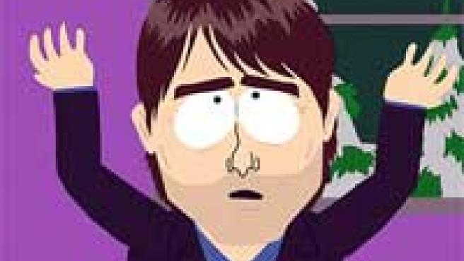 La recreación de Tom Cruise dentro de la serie de 'South Park'