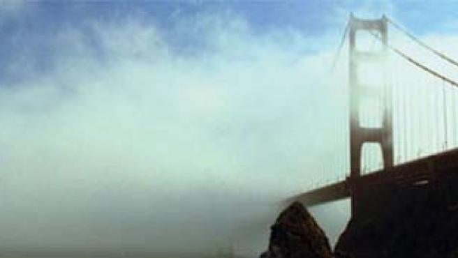 El Golden Gate, en un mar de bruma