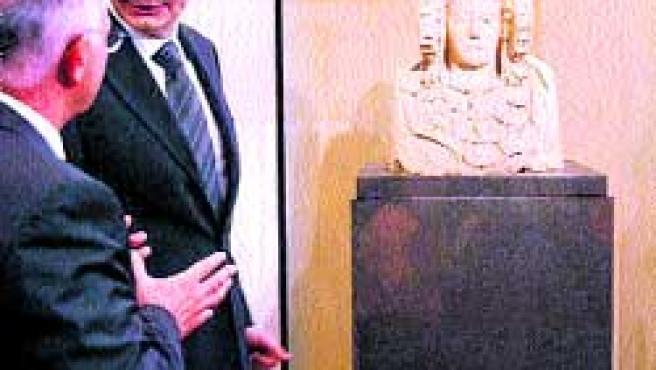 El presidente del Gobierno, José Luis Rodríguez Zapatero, hizo parada ayer.(M. Lorenzo / EFE)