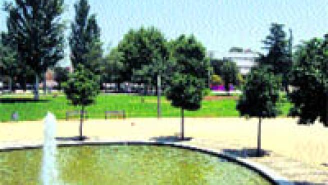 El parque de Lepanto es una de las zonas verdes más nuevas de la ciudad (Vacas).