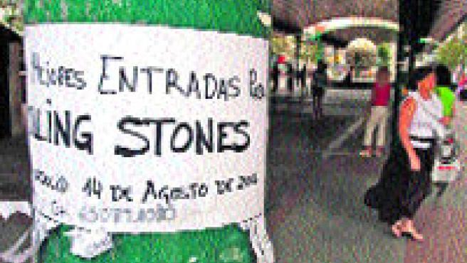 Suspensión de los concierto de los Rolling Stones. Pablo Elías.