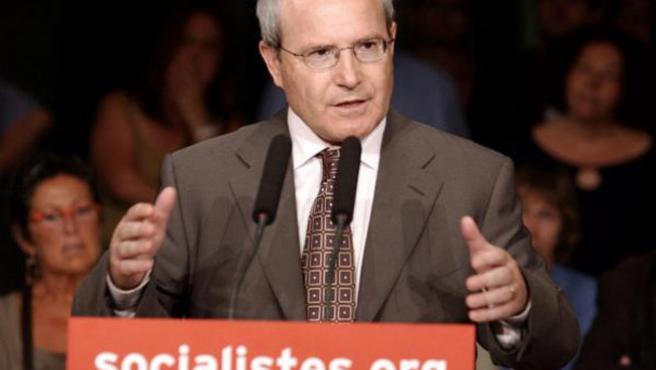 El candidato socialista a las elecciones catalanas, José Montilla. (EFE)