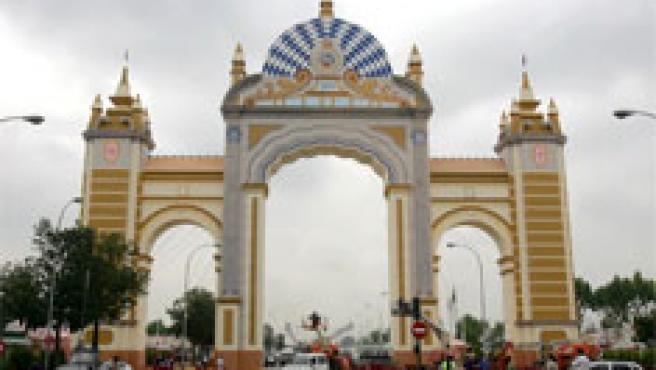 La Feria de Sevilla. (Efe)