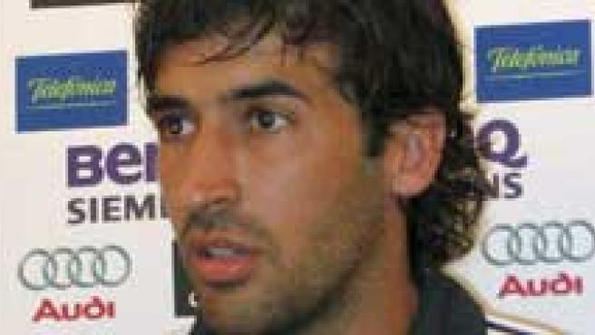 Raúl, en rueda de prensa. (Roberto Morales/Efe)