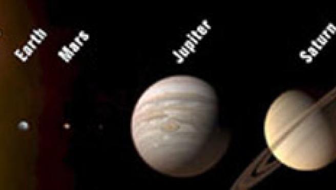 El nuevo Sistema Solar, con tan sólo 8 planetas.
