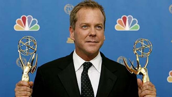 Kiefer Sutherland, protagonista de '24', la gran triunfadora de los Emmy (REUTERS/Mario Anzuoni)