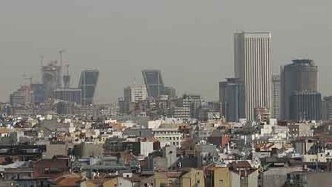 Vista del nuevo Sky Line de Madrid (Jorge París)