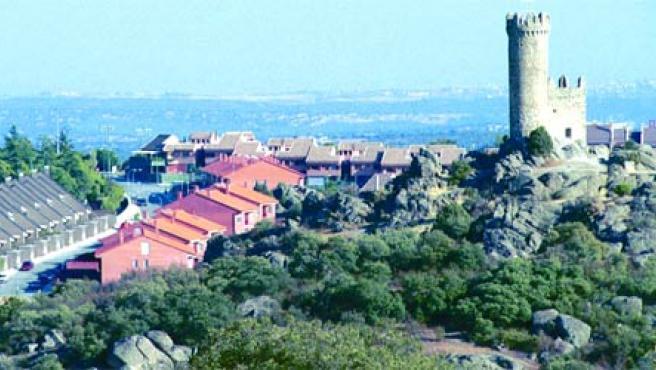 Vista de una urbanización de Torrelodones (Archivo)