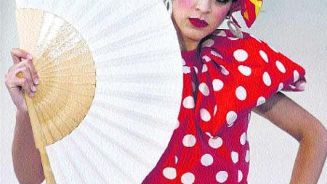 El segundo día de la Pasarela del Carmen de Valencia estuvo marcado ayer por la colección de Álex Vidal. EFE