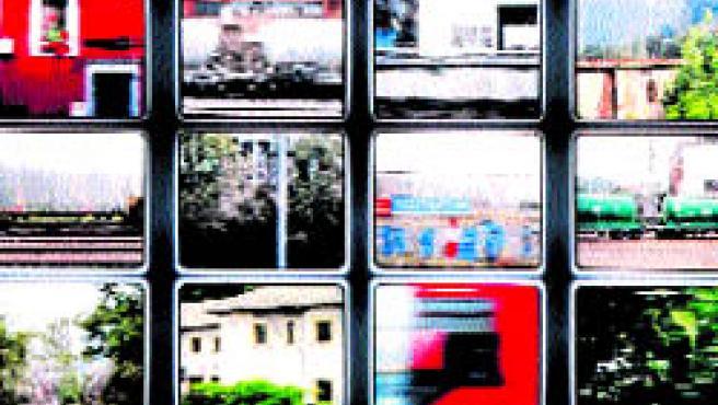 La exposición itinerante Caminos del hierro reúne en la estación de Delicias 100 fotografías de diferentes autores, 40 de ellos aragoneses, dedicadas al ferrocarril.