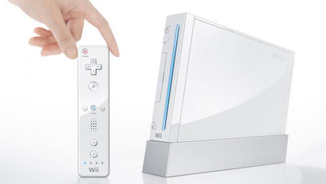 La consola Wii de Nintendo.