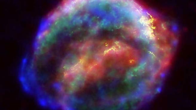 Las supernovas suelen utilizarse como el indicador de las distancias en el universo.