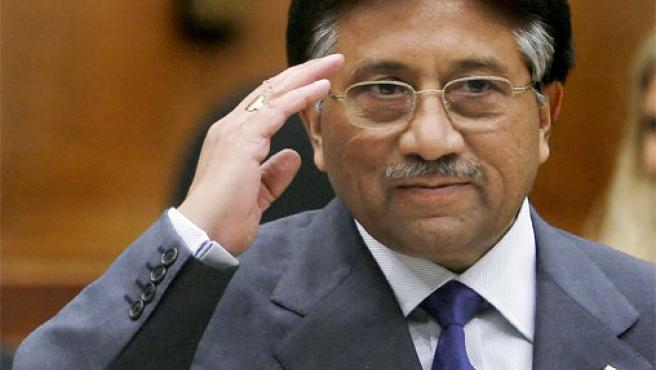 El presidente de Pakistán, Pervez Musharraf, en Washington (Foto: Reuters)