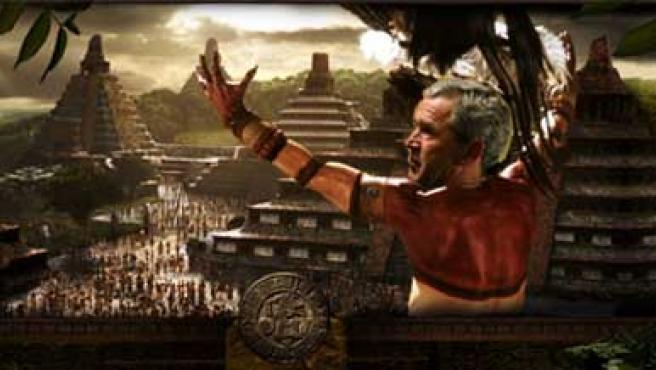 George W. Bush emperador maya