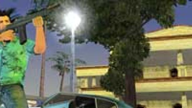 Imagen del videojuego 'GTA Vice City'.